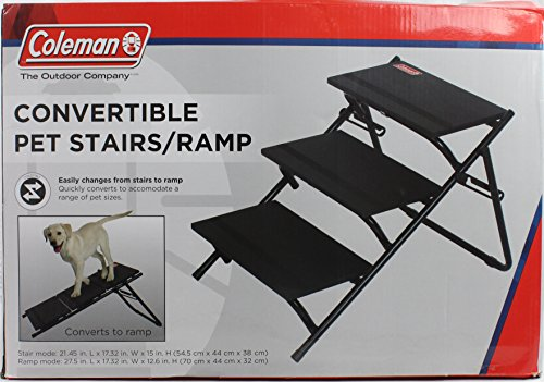 Coleman Convertible Pet Stairs And Ramp
