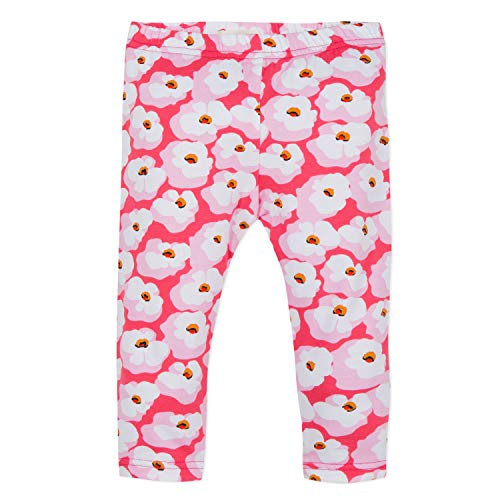 Catimini Baby Girls Pink Cherry Blossoms Leggings (9 Months)