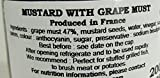 Grape Must Flavored LEpicurien Gourmet French mustard