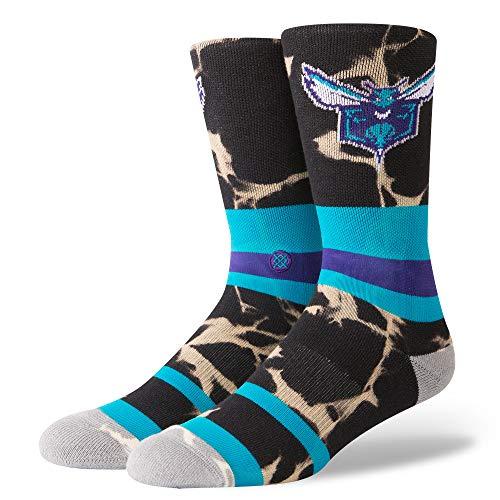 - Stance Men's Hornets Acid Wash Socks,Medium,Blue