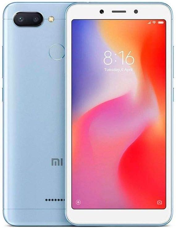 Xiaomi Redmi 6 64 GB Teléfono Móvil, Azul: Amazon.es: Electrónica