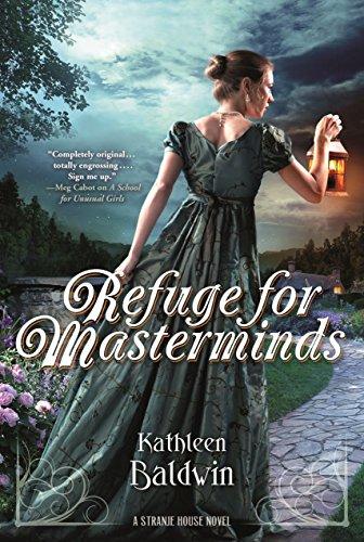 Refuge Masterminds Stranje House Novel ebook product image