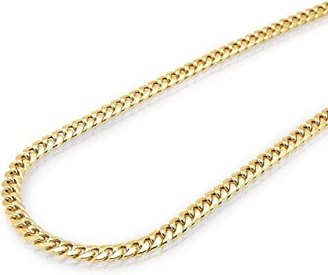 10k Yellow Gold Necklace Gold Rope Chain 16 18 20 22 24 26 28 30