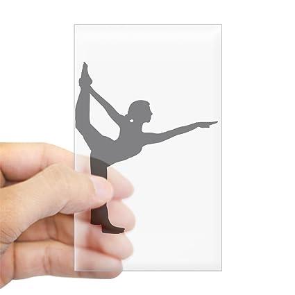 Amazon.com: CafePress Bikram Yoga Rectangle Bumper Sticker ...