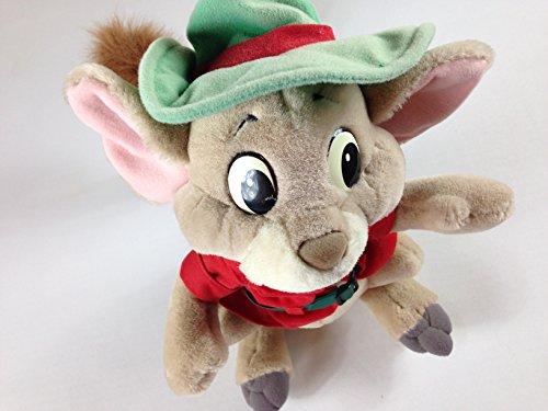 Disney Rescuers Plush Toy ; Down Under Kangaroo Rat Jake Collectible 15