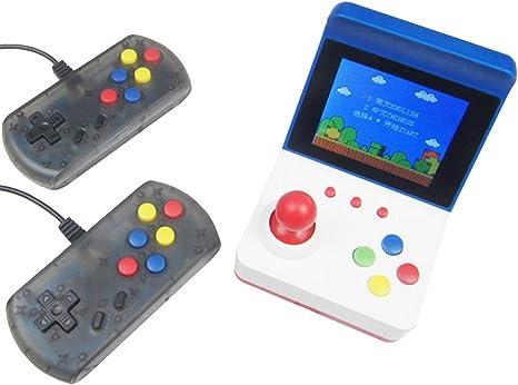 Consola clásica retro mini arcade -juego 360 incorporado con dos manijas control-que se puede conectar a la TV mediante un cable AV: Amazon.es: Videojuegos