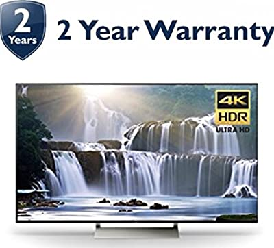 "Sony XBR75X940E X940E Series 75"" XBR 4K HDR Smart TV (2017 Model) + 2 Year Extended Warranty (Certified Refurbished)"