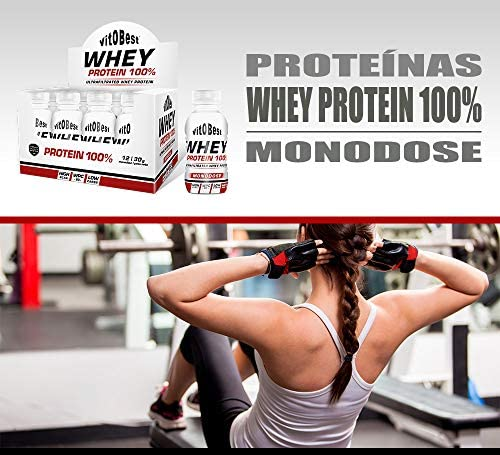 WHEY PROTEIN MONODOSIS 12 Uds./ 30 g COFFE - Suplementos ...