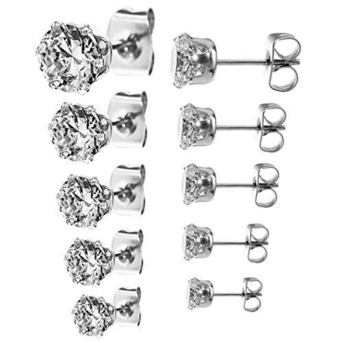Jinique Stainless Steel Round Earring product image