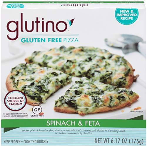 Gluten Free by Glutino Pizza, Single Serve, Spinach & Feta, 6.2 Ounce (Frozen)