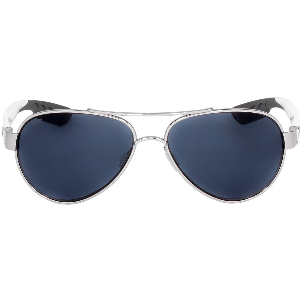 Costa Del Mar Loreto Sunglasses, Palladium, Gray 580P Lens