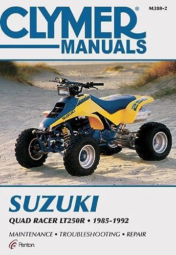 suzuki quad racer lt250r clymer manuals motorcycle repair penton rh amazon com Suzuki Quadzilla 250 Decals 1986 250 Quadzilla