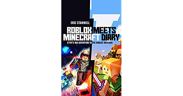Amazoncom Roblox Meets Minecraft Diary Steves Big - meeting real hackers in roblox