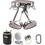 Petzl - Kit CORAX, Climbing Kit Containing CORAX Harness