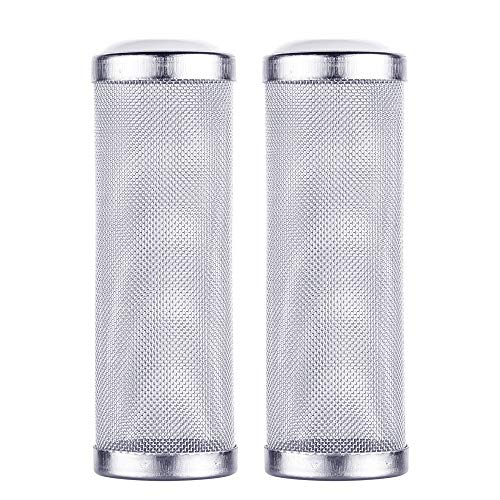 (Bluecell Pre-Filter Intake Filter Cover Intake Strainer Filter Guard for Aquarium Fish Tank (L))