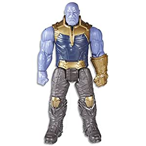 "Marvel Avengers - 12"" (30.5 cm) Thanos Power FX Figurine - Titan Hero Series - Ages 4+"
