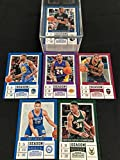 2017-18 Panini Contenders Draft Picks Complete Hand Collated Basketball Set of 50 Cards (Dark Jerseys) Includes LeBron James, Simmons, Irving, Giannis Antetokounmpo, Kobe Bryant, Porzingis, Larry Bird, Magic Johnson, Westbrook, ShaquilleO'Neal, Steph Curry, and more.