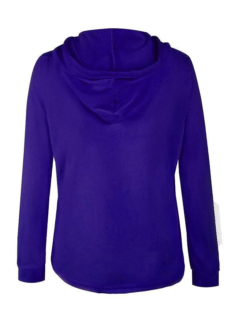 Moxeay Teens Girls Long Sleeve Pocket Zipper Hoodie Sweatshirt Jacket