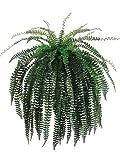 Silk Plants Direct Large Fishtail Fern Bush (Pack of 1)