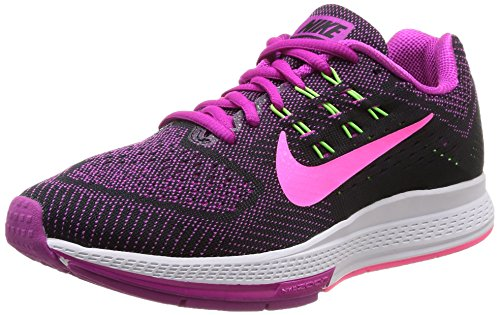 Nike W Air Zoom Structure 18 - Zapatillas para mujer Fchs Flash/Pnk Pw-Blk-Flsh Lm