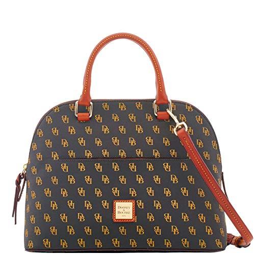 (Dooney & Bourke Gretta Carter Satchel Handbag, Brown Tmoro)