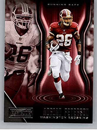 c90d210f2 2018 Playbook Football  58 Adrian Peterson Washington Redskins Official NFL  Card Produced by Panini