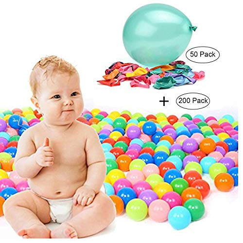 TRENDBOX 200 Colorful Ocean Ball (Ship from USA) 50 Size 10