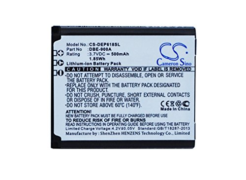 Cameron Sino 500mAh DBE-900A Battery for DORO Phoneeasy 618