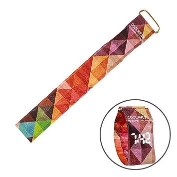 Gorgebuy Reloj Impermeable de Papel - Reloj Inteligente LED - Correa Digital para Relojes - para natación al Aire Libre: Amazon.es: Hogar