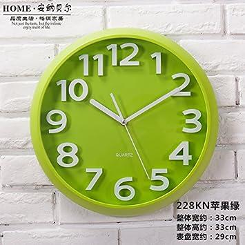 Horloge murale simple ronde création moderne Le Salon de l\'horloge ...