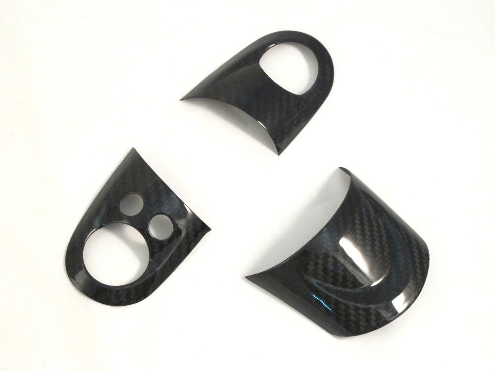 Dry Carbon Fiber Steering Wheel Cover for MINI COOPER R56 S SHINE LONG ELECTRONIC CO.