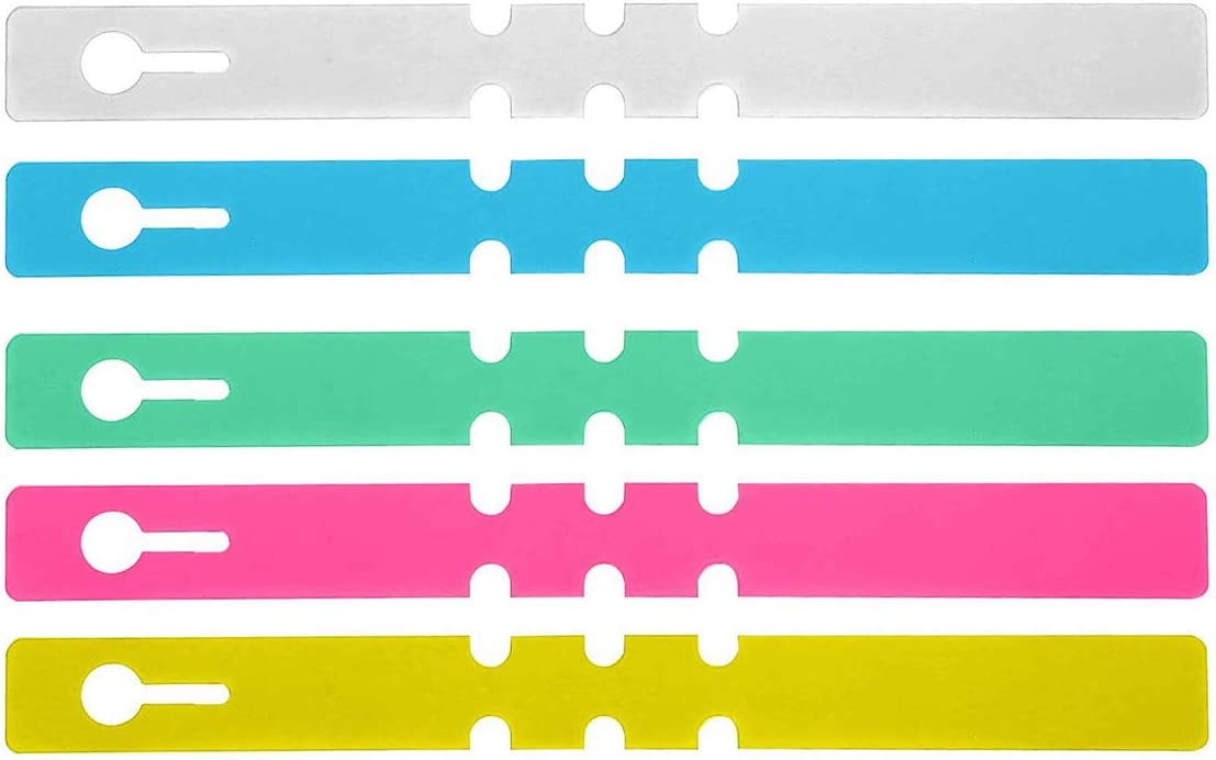 Tree Tags,50 Pcs Plastic Plant Nursery Garden Labels for Gardening Fruit, Multicolor
