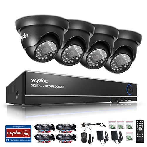 SANNCE 8CH Full 1080N Security Camera System and - Wireless Servalance Camera
