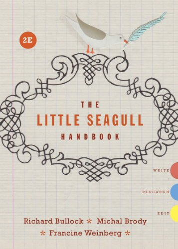 GoodReads The Little Seagull Handbook, 2nd Edition by Richard Bullock, Michal Brody, Francine Weinberg.pdf