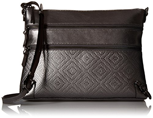 elliott-lucca-mari-3-zip-crossbody-graphite