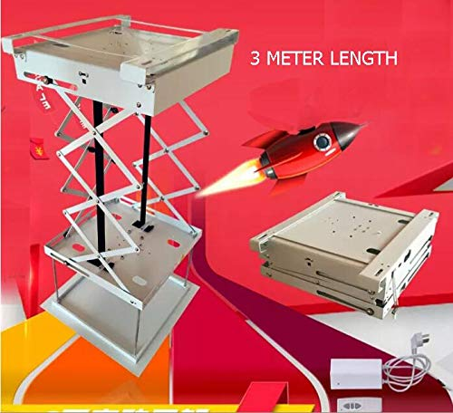 Projector Lift Model - Ochoos 3 Meters, Super Thin Electric Projector Lifts,Electric Engineering Machine Mount Large Load-Bearing Electric bracet