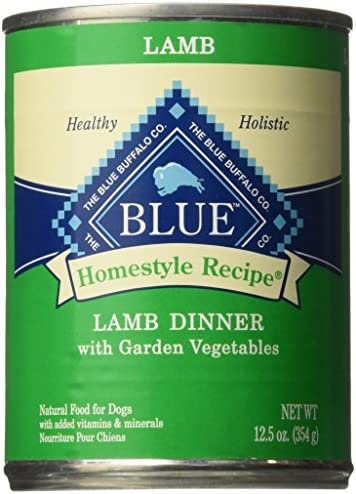 Blue Buffalo Homestyle Recipe Lamb Dinner – 12X12.5 Oz