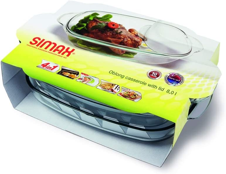 Simax-Clear-Rectangular-Glass-Casserole-With-Lid