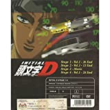Initial D (Stage 1-4) DVD 4 Discs All Region Japan Japanese Anime / ENGLISH SUBTITLE
