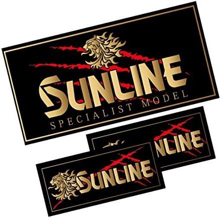 サンライン(SUNLINE) 獅子ステッカーセット ST-5500 ゴールド