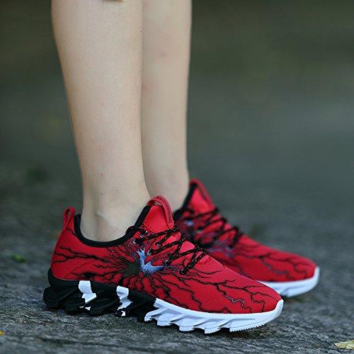 Scarpe Leggere Sneakers XIANV 406 comode Sneaker Sportive da Corsa Rot da Uomo Z8AFxAWdq