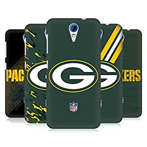Official NFL Green Bay Packers Logo Hard Back Case for HTC Desire 620 / 620 Dual Sim by Head Case Designs