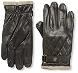 Franklin Tailored Men's Nappa Snap Closure Glove, Brown, S