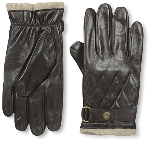 Franklin Tailored Men's Nappa Snap Closure Glove, Brown, S by Franklin Tailored (Image #1)
