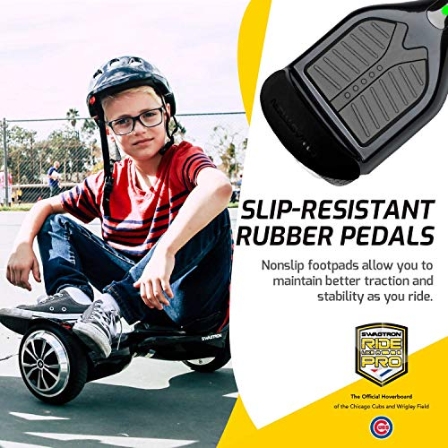 SWAGTRON T1 Hoverboard Best Electric Self-Balancing Scooter