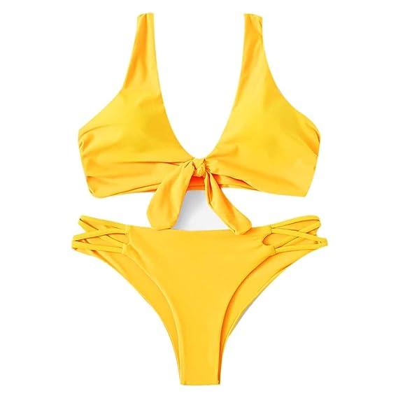 Traje de Baño Mujer 2019 SHOBDW Sexy Traje de Baño Mujer Dos ...