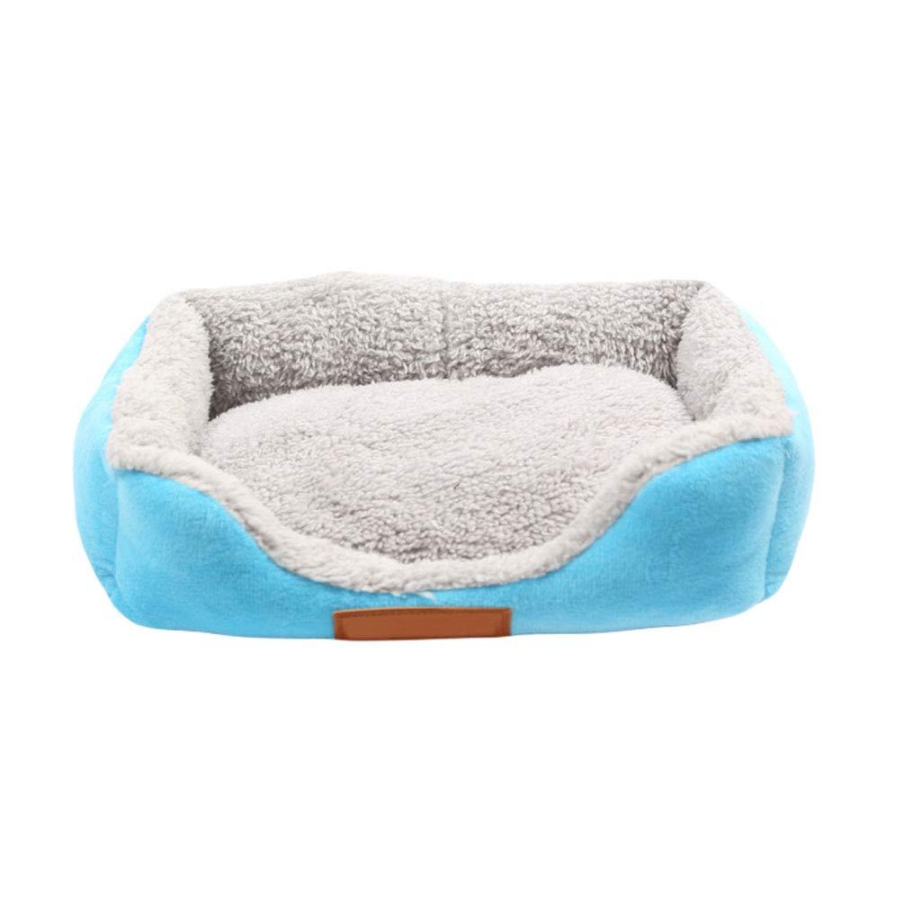 YiiJee Cuccia Cuscino per Animali Cani Gatti Pet Animali Caldo Comodo Verde S