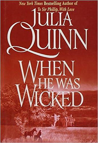 WHEN HE WAS WICKED BY (QUINN, JULIA)[AVON BOOKS]JAN-1900