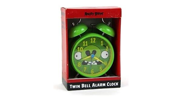 Producto Oficial de Angry Bird Twin Bell Reloj Despertador ...