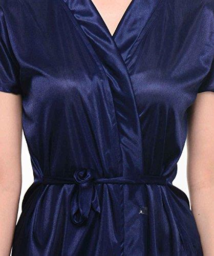ffb0460e14 Klamotten Women s Satin Nightdress (YY67 Navy Blue Free Size)  Amazon.in   Clothing   Accessories